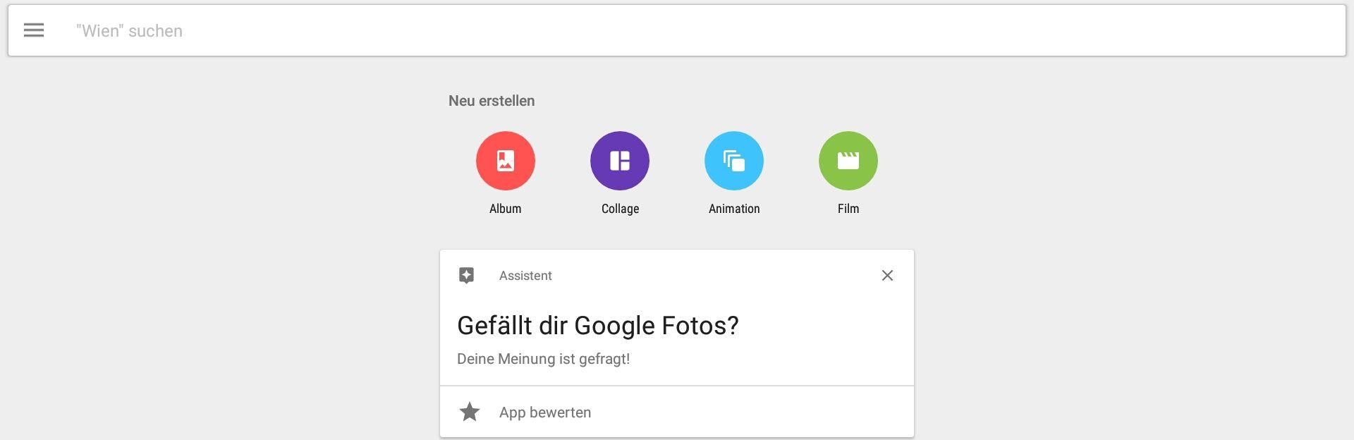 Mit Google Fotos Filme machen