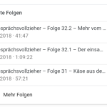 Podcasts unter Android - Google Rich Snippets für Podcasts