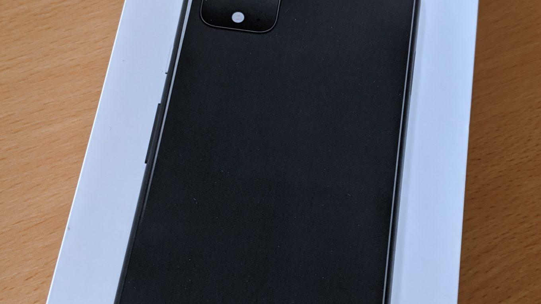Pixel 4 XL von Google in der Originalpackung